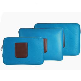 casos de tablet animal Desconto Yesello Laptop Bolsas Sleeve Case Esponja Material de Respiração Computador Laptops Saco Sólido Notebook Tablet Bag 15 polegadas Tamanho # 138775