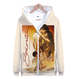 Music Senorita Camila Cabello Shawn Mendes 3D Zipper Hoodies Men Womn Kids Harajuku Shawn Mendes 3D Zipper Sweatshirts