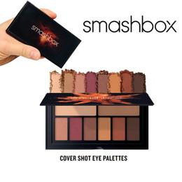 Canada 2019 Marque Smashboxes Palette Ablaze Cover Shot 8 couleurs Palette pour les yeux inspirée du désert 1pc / Lot Drop Shipping longue palette de Shadow Offre