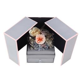 De vraies roses de luxe dans une boîte Roses conservées dans une boîte cadeau pour la fête des mères ? partir de fabricateur