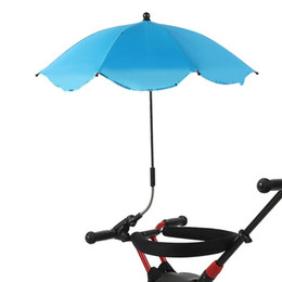 sonnenschirme für kinderwagen Rabatt Universal Baby Pram Umbrella Shade Regenschirm UV Sonnenschirm für Kinderwagen Kinderwagen