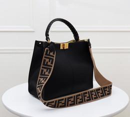 presente do natal da coruja bolsa de lona Desconto capacidade Kelli Bags Totes alta Clássico Bolsas de Ombro Carteiras das mulheres elegantes de couro genuíno Lady Crossbody Bag Bolsas 5-47