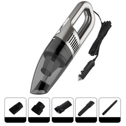 12V 120W Handheld Car Vacuum Cleaner Dry Wet 5 metros Auto Poeira Collector Rose Gold / cinza / preto de