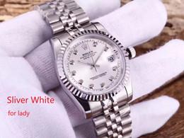 samsung gear smartwatch Desconto 2002 Início Qualidade de Luxo Marca Relógios 31 milímetros Rolex Women Watch automática Menchanical Movimento Sapphire Vidro Com Caixa Verde 2 #