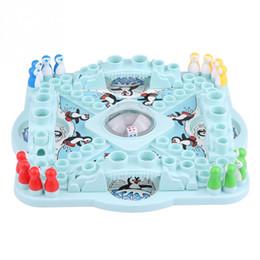 puzzle-tische Rabatt Günstige Puzzles lustige Tabelle Wettbewerb Spiel Drop Pinguine Spielzeug Brett Schach Eltern-Kind lustige Spiel Puzzle Bildung Classic Desk Toys