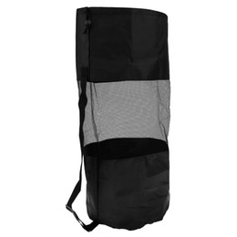 Мешок для купания онлайн-1 Шт. Сверхмощный Сетка Duffel Dive Bag Мешочек для Хранения Drawstring Для Дайвинга Подводное Плавание Плавание Серфинг Черный