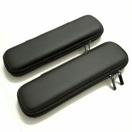 Sacchetto del trasduttore auricolare online-1 pezzo portapenne portatile in EVA di colore nero con custodia per custodia per ufficio, cancelleria per ufficio, astuccio per matita, sacchetto per penna, organizer, auricolare