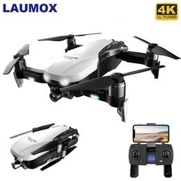 Quad ombreiro on-line-LAUMOX F8 GPS Drone Com 4K 1080p HD Camera Self-Stabilizin Gimbal Two-Axis Anti-Shake WIFI FPV RC dobrável Quadrotor Brushless T191101