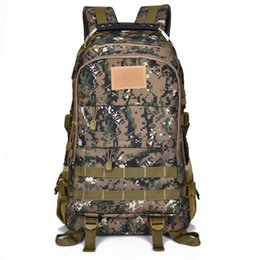 Jogos únicos on-line-New Style Camouflage Backpack Moda Estudantes Mock Jogo Props Grande Capacidade Outdoor Camping Backpack 2020