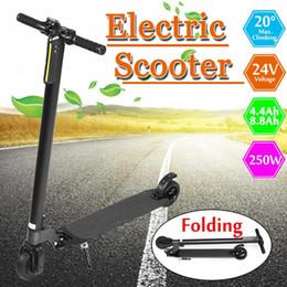 """Scooter électrique plié en Ligne-24V 5 """"250W Adulte Pliant Électrique Pliant Deux Roue Longue Panneaux Intelligent Skateboard E-Scooter Puissant Scooter Hoverboard"""