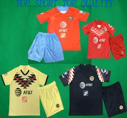 темно-зеленые носки Скидка 19 20 America Soccer Set LIGA MX Club America Home Away Третий футбол Джерси Шорты Вратарь Футбольные комплекты Вратарь для взрослых Спортивная форма