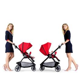 Kinderwagen online-Vierrad-Kinderwagen-Multifunktions-Bebek arabasi-faltender Wagen-europäisches Pram-Regenschirm-Auto