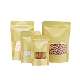 водонепроницаемость 10*15 см Оптовая пользовательские печатных Эко-бумаги мешок еды Zip Lock крафт-бумаги мешок с молнией кофе сумки от