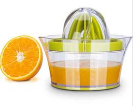 Copos de plástico laranja on-line-O ENVIO GRATUITO de alimentos copo de suco manual de plástico suco de laranja espremedor de frutas espremedor de frutas suco pequeno espremido