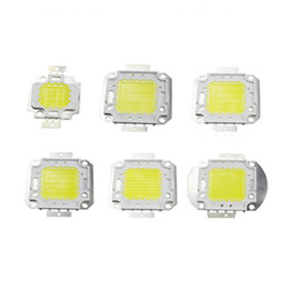 Batatas fritas on-line-10W 20W 30W 50W 70W 80W 100W COB LED lâmpada de luz Chip 32-36V COB LED integrado Chip DIY Projector Spotlight Bulb