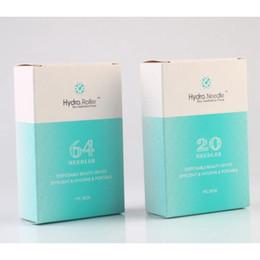 2019 mym micro aiguille thérapie Portable Hydra Micro Aiguilles Aiguilles Applicateur Bouteille en verre Serum L'injection dans la peau Microneedles Rajeunissement réutilisable peau anti-âge