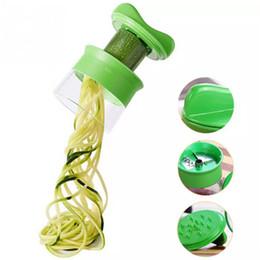Canada 2019 New Handheld Légumes Spiralizer Spirale Gadgets De Cuisine Légumes Trancheurs Déchiqueteuses Cutter Peeler Carotte Râpe Cuisine Accessoire Offre