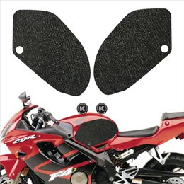 tank pads Promo Codes - Motorcycle tank grip fuel tank traction pad side knee grip protector KSHARPSKIN for HONDA CBR600F4i VFR800 INTERCEPTOR