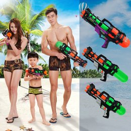 grandes pistolas de agua Rebajas Envío gratis NUEVA alta presión 44 cm 48 cm 59 cm Súper Grande Pistola de agua de juguete Juguetes de plástico Pistola de agua de juguete adulto para la piscina