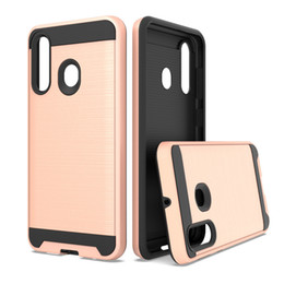 cases for coolpad Coupons - Metal Brushed Phone Case Hard PC Anti-Fingerprint Full-Body Protective Shell Cover for Coolpad Legacy Moto E6 Moto G7 Play USA
