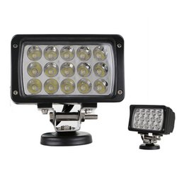 luce spot 45w Sconti Di alta qualità 6 pollici 45 W IP67 LED Work Light Bar bianco Spot Flood Beam lampada per miniera 4WD 4x4 SUV / ATV BoatTruck auto faro lampada da lavoro