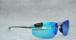 gafas polarizadas Rebajas Venta caliente MauiJim Sunglasses MJ 407 Lente Polarizada Gafas de sol MJ407 Polarized Sunglasses Hombres Mujeres MJ Sports Super Light Gafas para Drivi