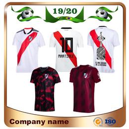 2020 Ривер Плейт домой белый футбол Джерси Ривер Плейт прочь, черный G.MARTINEZ QUINTERO PRATTOSoccer Shirt 19/20 Riverbed Футбольная форма Продажа от