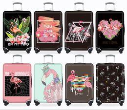 Capa de bagagem elástica on-line-Thicken Suitcase Protective Covers Para 18-32 Inch Suitcase caso do curso da bagagem Saco Trolley Elastic bagagem Tampa