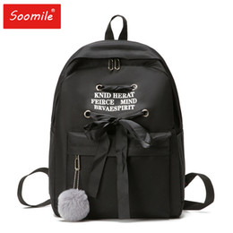 south korean style backpacks Coupons - 2019 new south Korean version of canvas backpack fashion leisure travel backpack bag junior high school students' bags