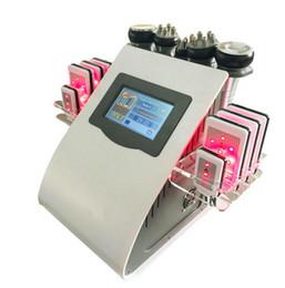 Canada Cavitation ultrasonique de liposuccion 40k 8 protections 6 dans 1 laser de lipo de LLLT amincissant le matériel de station thermale de salon de soins de la peau du vide rf de machine cheap cavitation pads Offre