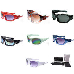 2ef54a574e shooting goggles Promo Codes - Wrap Round Coating Sunglasses Men Women  Luxury Brand Designer Shooting Glasses