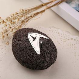 2019 star trek pins Star Trek Starfleet Abteilung Brosche New Designer Broschen Revers-Stifte Herrenmode Schmuck-Geschenk-Tropfen-Schiff 170244