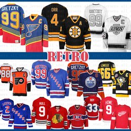 wayne gretzky rangers jersey Desconto baratos 99 heróis Wayne Gretzky St. Louis New azuis York Rangers Edmonton Oilers CCM 4 Bobby Orr Boston Bruins de Los Angeles Hockey Jersey