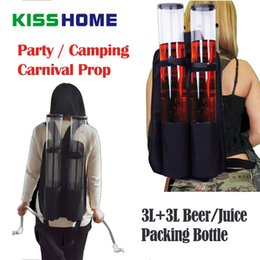 2019 accessori da bere da birra 6L Party Dedicated Beer / Juice / Drink Storage Bottle Portable Large Capacity Torre del vino Carnival Prop Creative Bar Accessori sconti accessori da bere da birra