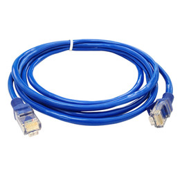 2019 connecteurs de câbles lan EComputer Câbles Connecteurs 1.6M Câble Ethernet réseau Ethernet LAN LAN CAT5e bleu pour ordinateur Modem Routeur promotion connecteurs de câbles lan