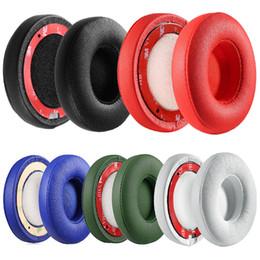 Fasce di gomma piuma online-Cuscino auricolare di ricambio per Slo2 / Slo3 Auricolari Bluetooth per cuffie Spugna Cuscinetti in schiuma morbida Accessori per cuffie