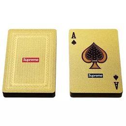 Decks karten online-FW13 Sup Gold Kartenspielkarten