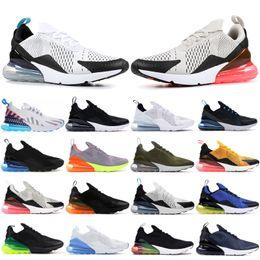 Throwback Future 270OG Chaussures de course pour les hommes Noir Multi Color Laser orange Ember Triple blanc olive Designe Sneaker Noir Femmes Formateurs ? partir de fabricateur