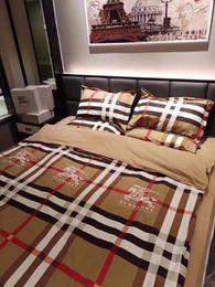2019 re del comforter del pavone Moda per adulti 4 pezzi di set di biancheria da letto includono copripiumino lenzuolo federa qualità perfetta e designer classico