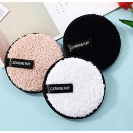 1 UNID Suave Microfibra Removedor de Maquillaje Toalla Limpiador Facial Puff de Felpa Reutilizable Almohadillas de Paño de Fundación Fundación Cuidado de la Piel Herramientas desde fabricantes