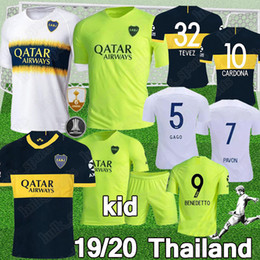 boca juniors jersey thai Coupons - Thai 2019 2020 Boca Juniors soccer Jerseys GAGO Cardona Benedetto 19 20 boca juniors football jerseys DE ROSSI Pavon Camisola de futebol