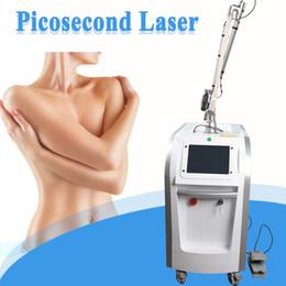 Máquinas laser remover on-line-2019 novo pico laser vertical Q interruptor nd yag remoção de laser cicatrizes de tatuagem a laser remover máquina picosecond picosure equipamentos de beleza
