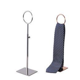 Transporte rápido Gravata Exibição Tie Display Gravata Estande Titular Tie Stand Cachecóis Titular Estande 3 cores LX1459 de