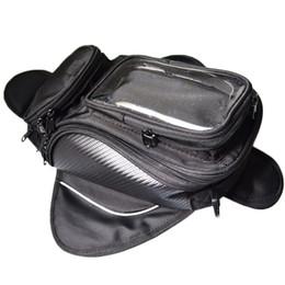 2019 sacchetto del serbatoio della moto Borsa serbatoio moto moto borsa serbatoio carburante olio Magnetica bici sella borsa moto grande schermo per telefono / GPS sacchetto del serbatoio della moto economici