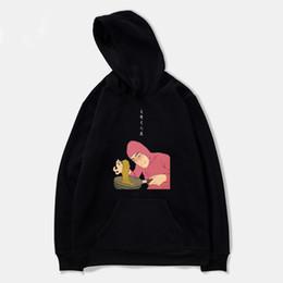 Argentina Pink Guy Ramen King VAPORWAVE Mujer / Hombre Sudaderas con capucha Harajuku Moda Sudadera con capucha Niños / Niñas Sudadera con capucha Hombre Jerseys chándal Top cheap girls pink hoodie sweatshirt Suministro