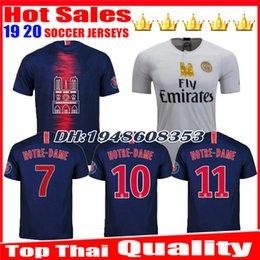 71de1c8c0 Discount notre dame jerseys - Notre Dame patch PSG 2019 MBAPPE soccer jersey  18 19 NEYMARJR