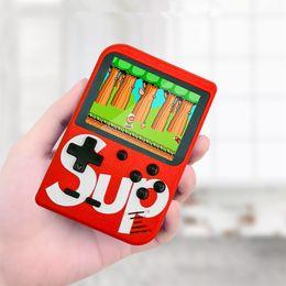 Pantalla tft pulgadas online-Nuevo 800 juegos SUP mini portátil de juego de consola portátil máquina de juegos retro clásico jugador de videojuegos de 3,0 pulgadas TFT color de la pantalla de salida AV