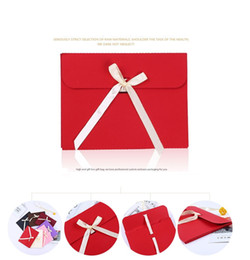 Черная бумажная оболочка онлайн-100шт вверх большой черный фото конверт упаковка чехол белая бумага подарочный конверт для шелковый шарф с лентой открытка конверт коробка