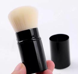 brosse de maquillage classique avec logo brosse de champignon rétractable portable fondation poudre blush pinceau avec boîte de logo ? partir de fabricateur
