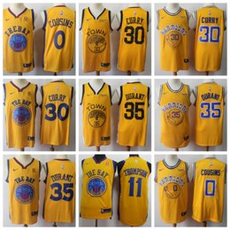 8ee0cc96d Top Good quality Golden navy white Kevin State Jersey Warriors Durant  Stephen Jersey Curry Basketball Jerseys
